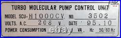 14366 Seiko Seiki Turbomolecular Pump Control Unit, Stp-h1000cv Scu-h1000cv