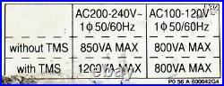 23388 Boc Edwards Turbomolecular Pump Control Unit Scu-750