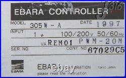 5798 Ebara Turbo-molecular Pump Controller, P/n Pwm-20m 305w-a