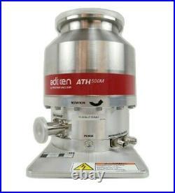 ATH 500M Adixen V13121B6 Turbomolecular Pump Pfeiffer Turbo No Controller As-Is