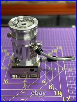 Agilent TV81-T Turbo-V Molecular Vacuum Pump 9698905M002 With TURBO-V70 Controller