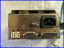 Agilent/Varian TV-301NAV Turbomolecular Pump with Controller Tested 9698973M017