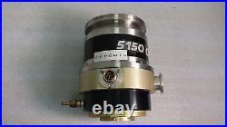Alcatel 5150 CP Molecular High Vac Turbo Pump & CFF 450 Turbo Controller