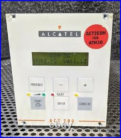 Alcatel act 200 turbo pump controller for ATH30 turbomolecular vacuum pump