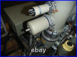 BALZERS Evaporator With Pfeifer Turbomolecular Pump and Controller -Parts/Repair