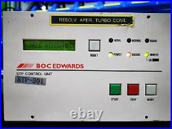 BOC Edwards STP-301 Turbomolecular pump controller, tested working