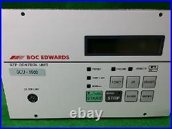 Boc Edwards Scu-1500 Turbomolecular Pump Control Unit, Used