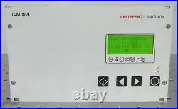 C176346 Pfeiffer TCM 1601 Turbo Molecular Vacuum Pump Controller (PM C01 675 A)
