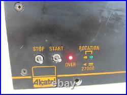 CFF 450 TURBO Alcatel 8220 Turbomolecular Pump Controller Turbo
