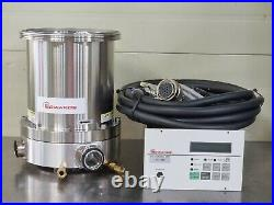 EDWARDS TMP TURBO MOLECULAR PUMP STP-1003-U + SCU-800 Controller With Cables