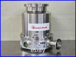 EDWARDS TMP TURBO MOLECULAR PUMP STP-301-U + SCU-301-U Controller With Cables
