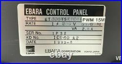 Ebara ET-600W Turbo Molecular Pump Controller