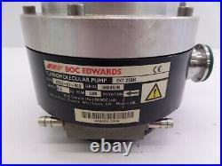 Edwards EXT 255H Turbomolecular Pump with EXDC160 Pump Controller