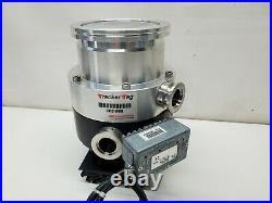 Edwards EXT255 HP ISO 100-K Turbomolecular Vacuum Pump with EXDC160 Controller