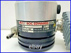 Edwards EXT70 Turbomolecular Vacuum Pump with EXDC80 Controller