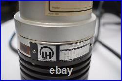 Leybold Heraeus TURBOVAC TMP50 High Vacuum Turbomolecular Pump w NT50 Controller