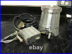 Leybold TW 250 S TW250S Turbo Molecular Pump withTDS Controller & Cables