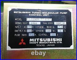 Mitsubishi Ft-1200w-t7-271t Turbo Molecular Pump Controller