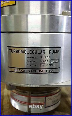 Osaka Turbomolecular Vacuum pump Model TH162 With Model TC160 Controller