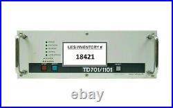 Osaka Vacuum TD701/1101 Turbomolecular Pump Controller Turbo Tested Working
