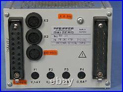 Pfeiffer Balzers TCP 121 Turbo Molecular Pump Controller