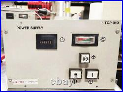 Pfeiffer Balzers TCP-310 Turbo Molecular Pump Controller TCP310 Tested, Warranty