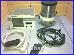 Pfeiffer Balzers TPH 240 Turbo Molecular Pump With TCP 380 controller & Cable