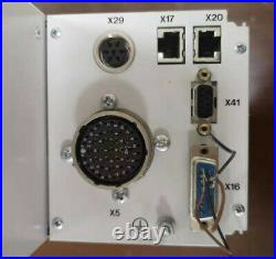 Pfeiffer TCM 1601 Turbo Molecular Pump Controller, Working
