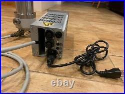 Pfeiffer TMU 065 Turbomolecular Vacuum Pump TCP 015 Controller Cable UHV DN63CF