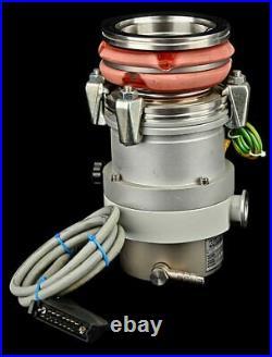 Pfeiffer TPH 190 190l/s Turbo Molecular Vacuum Pump +TCP 120 A Controller Module
