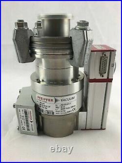 Pfeiffer TPH051 Turbomolecular Pump with TC 100 Turbo Pump Controller