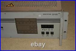 Pfeiffer Turbo Molecular Vacuum Pump Controller Tcp 600 Tcp600