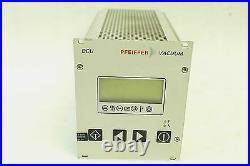 Pfeiffer Vacuum Turbo Molecular Pump Controller Dcu150 Tested Working Free Ship