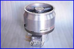 Pfeiffer Vacuum Turbo Molecular Pump Tph 2101 U P, Tc750 Controller Working Free