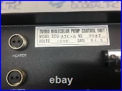 SEIKO SEIKI SCU-STC-G Turbo Molecular Pump STP Thermo Controller 100V 413527