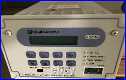 SHIMADZU EI-D1003M TURBO MOLECULAR PUMP CONTROLLER Suitable pump TMP-803/1003