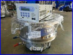 SHIMADZU TURBO MOLECULAR PUMP TMP-4203LMC TURBO PUMP + El-D4203M Controller