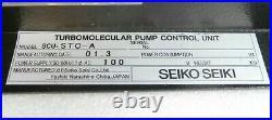 Seiko Seiki SCU-STC-A Turbomolecular Pump STP Thermo Controller Turbo Working
