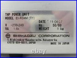 Shimadzu EI-R04M (T1) Turbomolecular Pump Controller TMP Turbo 2L11-000004-V1