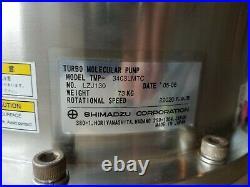 Shimadzu TMP-3403LMTC Turbo Molecular Pump Set with Control EI-D3403MT & Cables