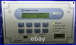Shimadzu Tmp-203m-g1 Turbo Molecular Pump & Ei-d203 Controller
