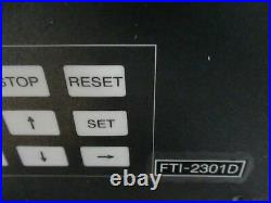 Shimadzu Turbo Molecular Pump Controller Fti-2301d-d3