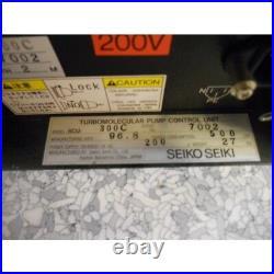 Turbomolecular Pump Controller Seiko Seiki Scu-300c