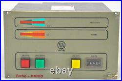 Varian 969-9552 V1000 Turbo Molecular High Vacuum Pump Controller Module AS-IS