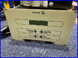 Varian TV 300HT Turbomolecular Pump PN 9699037 with Controller Set