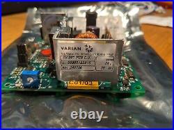 Varian TV-301 turbomolecular pump with controller