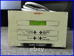 Varian Turbo-V 2000HT Turbomolecular Vacuum Turbo Pump Controller // 9699562