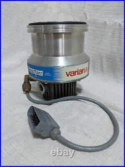 Varian Turbo-V 250 MacroTorr 9699007 Turbomolecular Pump with Controller 9699425