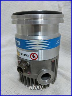 Varian Turbo V-70 Turbomolecular Pump 9699357S012 with Controller 9699402
