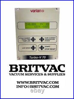 Varian Turbo V70 Turbomolecular Pump Controller, Tested Including VAT